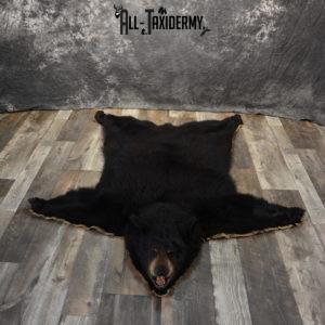 Black Bear Taxidermy Rug For Sale SKU 1070