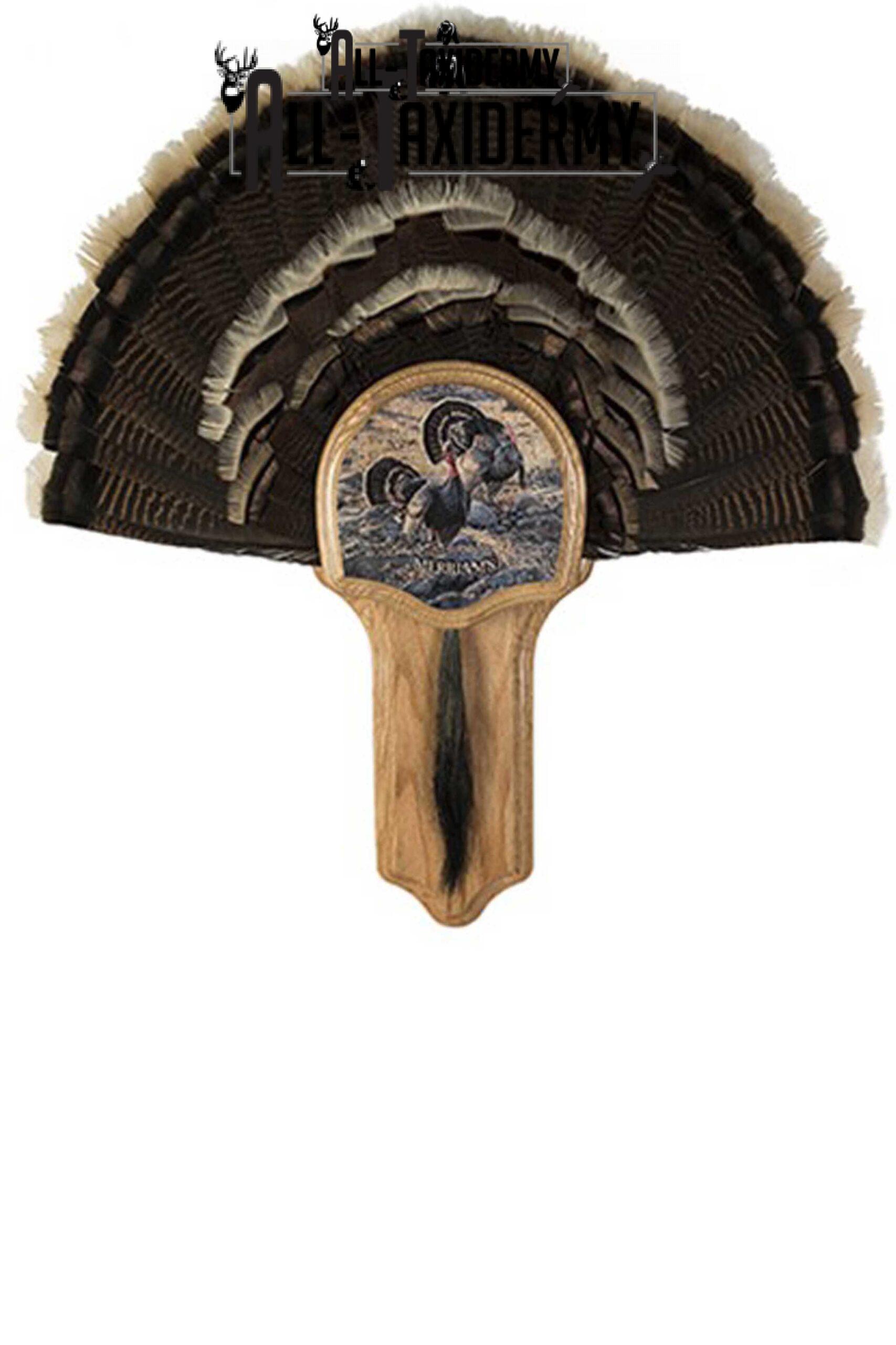SKU 0142 Deluxe Turkey Display Kit, Oak, Merriam's